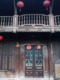 会安市,一个历史日本中国和欧洲国际市场在越南 免版税图库摄影