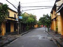 会安市,一个历史日本中国和欧洲国际市场在越南 库存图片