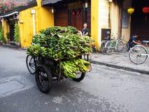 会安市,一个历史日本中国和欧洲国际市场在越南 库存照片