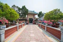 会安市-越南3月16日: :Phuc Kien礼堂在的会安市 免版税库存照片