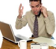 会计师强调说 免版税库存照片