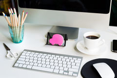 会计科目企业概念服务台办公室 库存照片