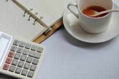 会计科目企业概念服务台办公室 免版税图库摄影