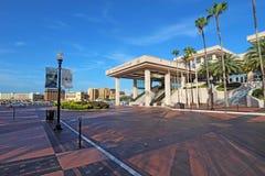 会议中心在街市坦帕,佛罗里达 库存照片