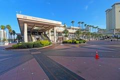会议中心在街市坦帕,佛罗里达 免版税图库摄影