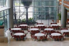 会议中心旅馆军用餐具  库存图片