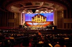 会议中心,盐湖城 免版税图库摄影