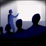 会议介绍 免版税库存照片