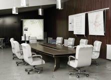 会议内部现代 免版税库存图片
