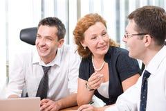会议办公室实际工作者 免版税库存图片