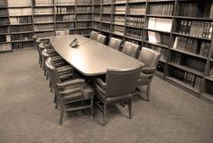 会议办公室空间 免版税库存照片