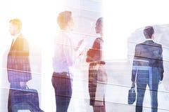 会议和人群概念 免版税库存图片