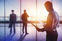 会议和就业概念 免版税库存照片