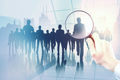 会议和研究概念 免版税库存图片