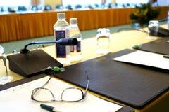 会议大厅 免版税库存照片