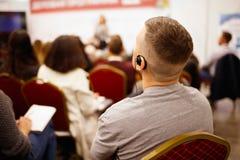 会议室业务会议领导概念 库存图片