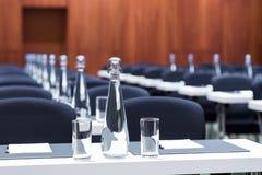 会议室为业务会议被设置 免版税图库摄影
