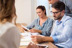 会议室会议在办公室 免版税库存照片