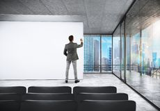会议室会议 免版税库存图片