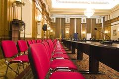 会议室位子 免版税库存照片