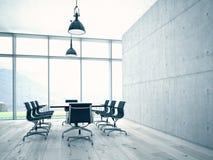 会议室内部 免版税库存图片