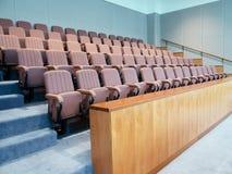 会议室内部 免版税库存照片