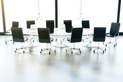 会议室前面 免版税图库摄影