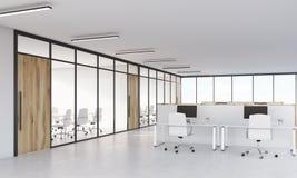 会议室和小卧室 免版税库存图片