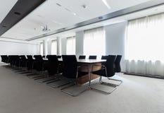会议室在商业中心 免版税图库摄影