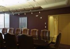 会议室空的会议室 免版税库存照片