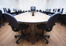 会议室 免版税图库摄影