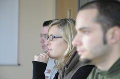 会议小组 免版税库存图片