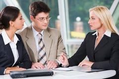 会议工作组 免版税库存照片