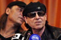 会议新闻摇滚明星 库存图片