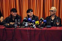 会议新闻摇滚明星 免版税库存照片