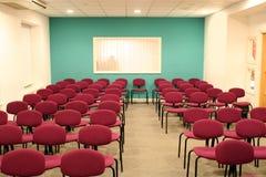 会议空的大厅 免版税库存照片