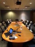 会议空的空间 库存照片