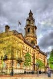 会议议院,一座法院大楼在普雷斯顿,兰开夏郡 免版税库存图片