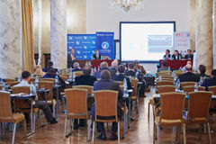 会议财产管理Particpants 2012年 免版税库存照片