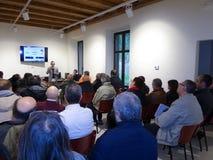 会议DMR意大利 免版税库存照片