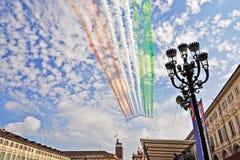 会集意大利国民的空军xix 图库摄影