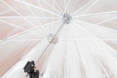 伞框架明亮的黑白细节  背景概念 库存图片