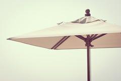 伞海滩 免版税库存照片