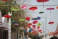 伞美丽的泰国 免版税库存图片