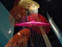 伞舞蹈 库存照片