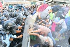 伞运动在香港 免版税图库摄影