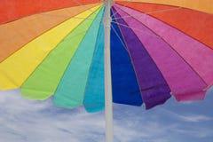 伞颜色! 免版税库存照片
