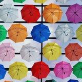 伞颜色 免版税库存照片