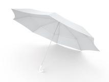 伞, 3D 免版税库存照片