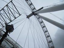 伟大的伦敦眼 免版税库存照片